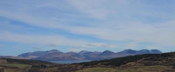 Arran from kintyre