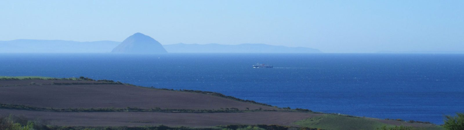 Southend of the Isle of Arran view